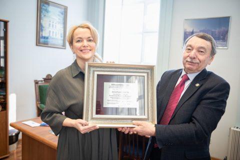 Создатели «Сибирских блинов» сделали вклад в Эндаумент-фонд ТГУ