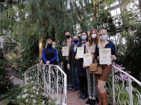 Студенты «Волонтеры Сибирского ботанического сада ТГУ» получили дипломы Эндаумент-фонда ТГУ